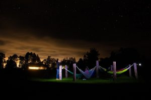 Drakensberg star gazing hammock camp